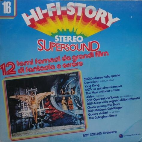 Ray Collins Orchestra - Thunderball - 12 Temi Famosi Da Grandi Film Di Fantasia E Orrore