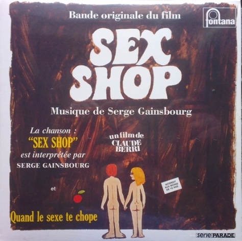 Serge Gainsbourg - Jean-Claude Vannier – Sex Shop