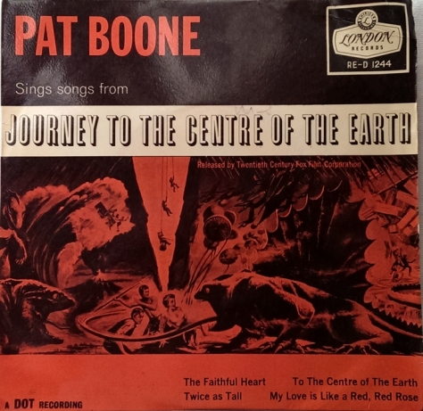 Pat Boone - Journey to the centre of the earth