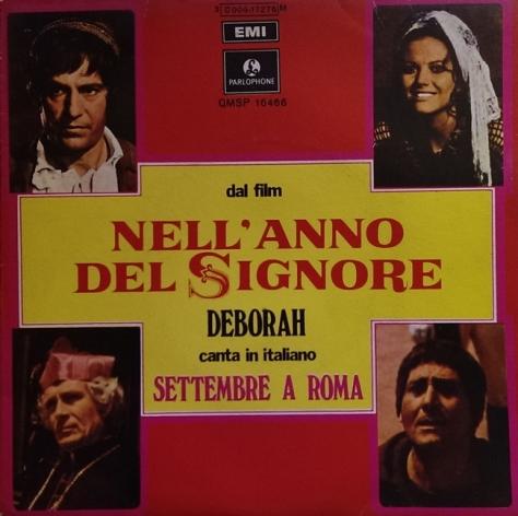 Deborah - Settembre A Roma - Armando Trovajoli - Nell'anno del Signore