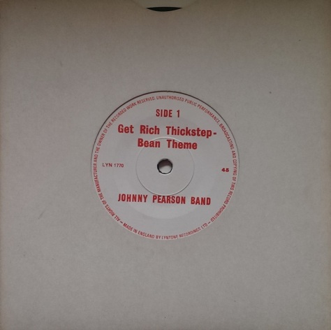 Johnny Pearson Band - Get Rich Thickstep