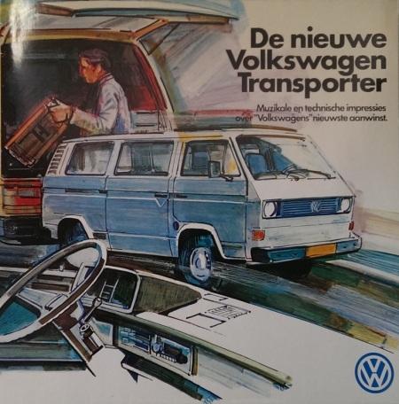 De Nieuwe Volkswagen Transporter B3