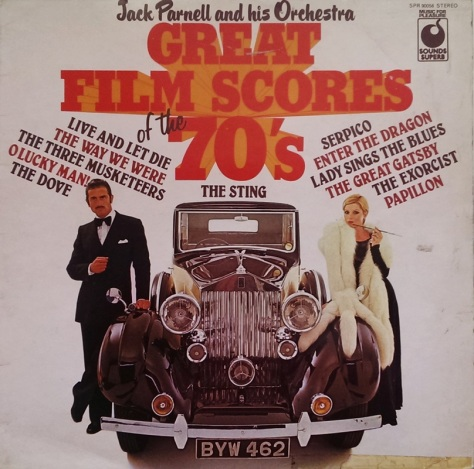 Jack Parnell and his Orchestra - Great Film Scores of the 70s
