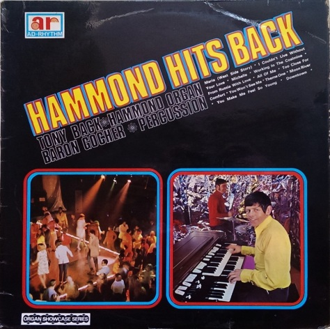 Tony Back - Hammond Hits Back