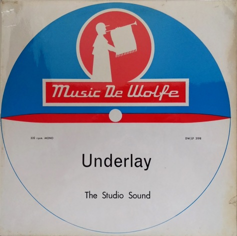 The Studio Sound ‎– Underlay - De Wolfe