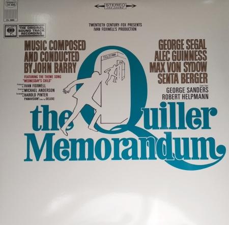 John Barry - The Quiller Memorandum