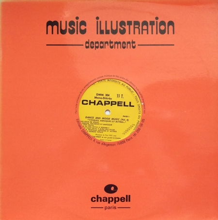 Paul Piot - Dance and Mood Music - Chappell DMM304