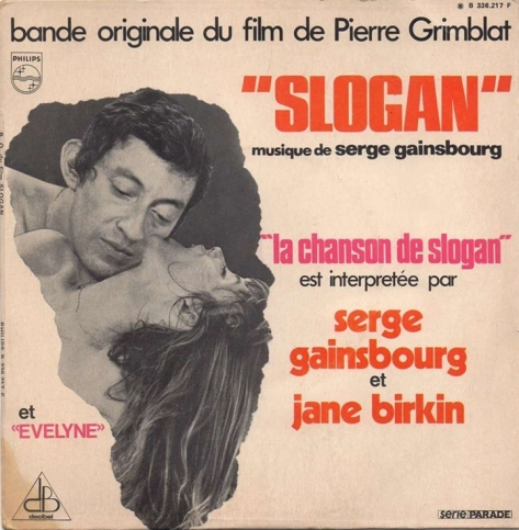 Serge Gainsbourg et Jane Birkin - La Chanson De Slogan
