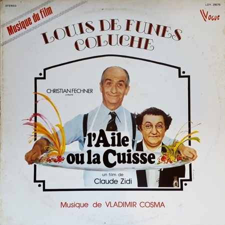Vladimir Cosma – L'aile Ou La Cuisse - The Wing and the Thigh