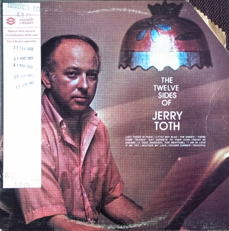 Jerry Toth - Last Tango in Paris
