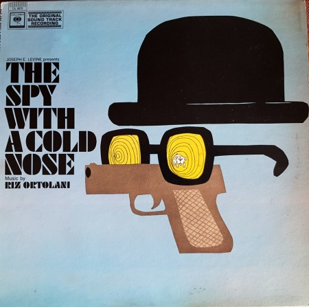 Riz Ortolani ‎– The Spy With a Cold Nose