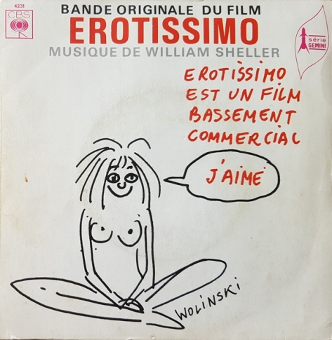 William Sheller ‎– Erotissimo