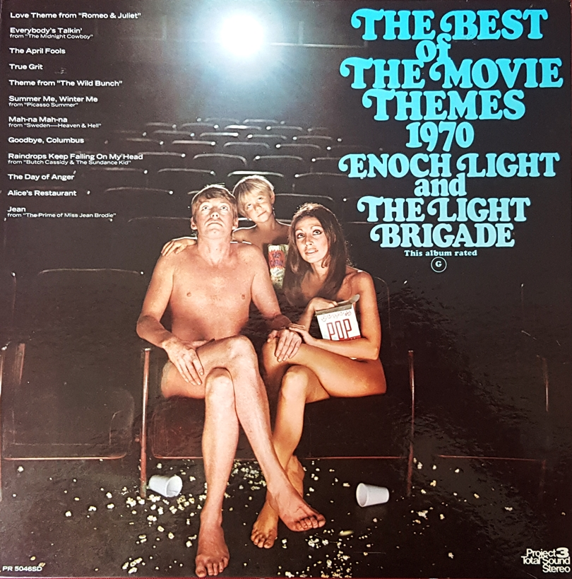 Enoch Light and the Light Brigade - The Best of the Movie Themes 1970