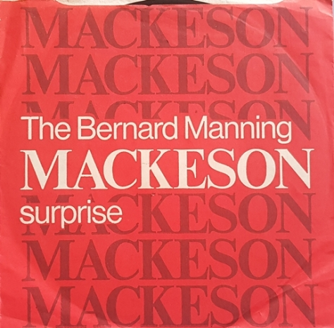 Bernard Manning ‎– The Bernard Manning Mackeson Surprise