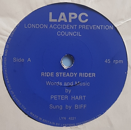 LAPC London Accident Prevention Council ‎– Ride Steady Rider