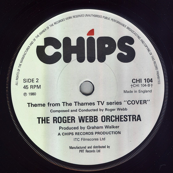 The Roger Webb Orchestra – Theme From The Thames T.V. Series Cover