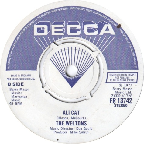 The Weltons – Ali Cat