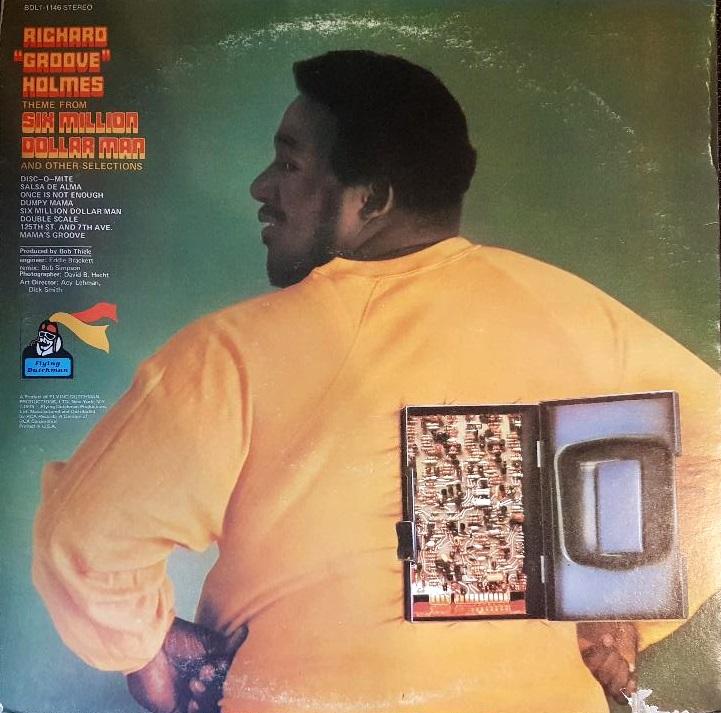 Richard Groove Holmes - 6 Million Dollar Man - reverse